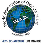 World association of detectives Life membership