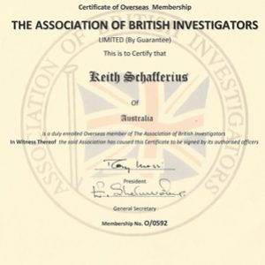 The association of british investigators membership