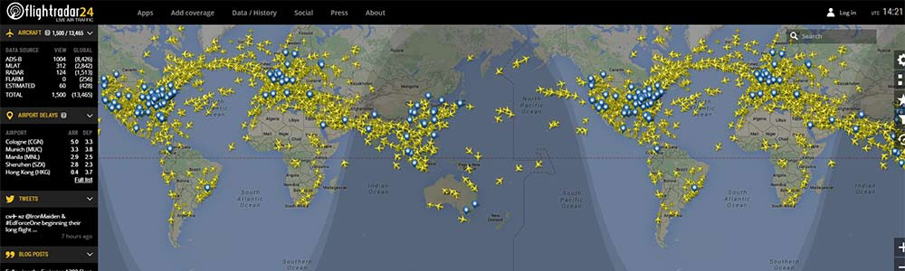 Flightradar24 image